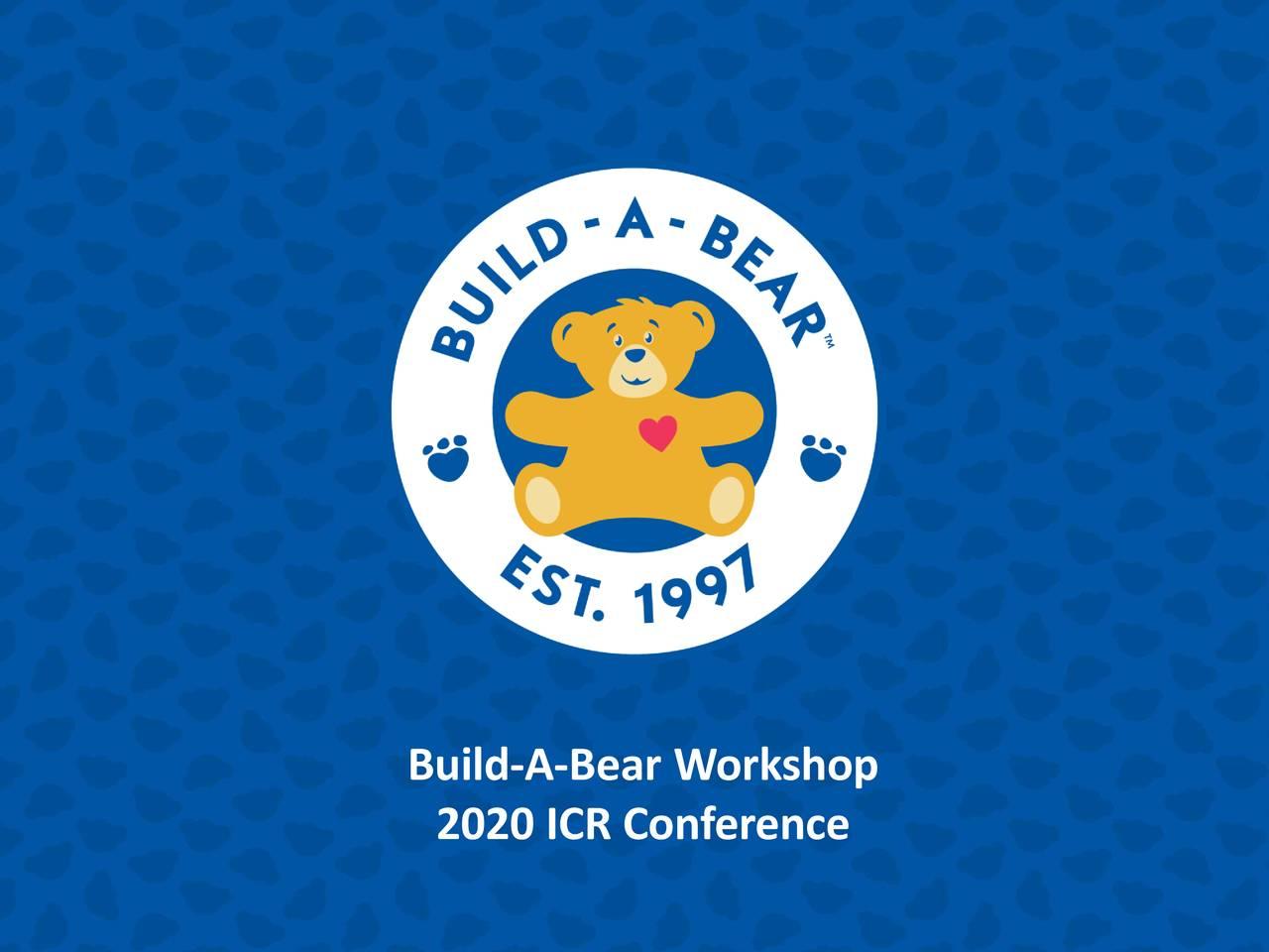 Build-A-Bear Workshop (BBW) Presents At 22nd Annual ICR Xchange Conference - Slideshow - Build-A-Bear Workshop, Inc. (NYSE:BBW)   Seeking Alpha