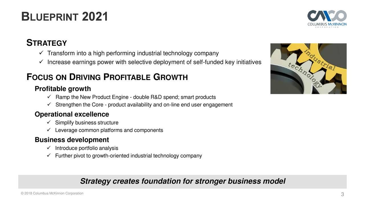 Columbus mckinnon cmco presents strategic plan blueprint2021 columbus mckinnon cmco presents strategic plan blueprint2021 raising expectations slideshow malvernweather Images
