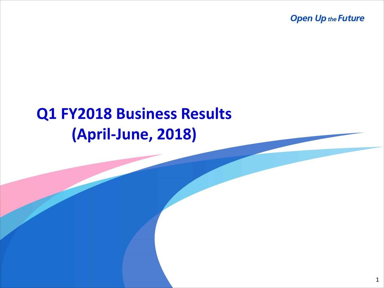 Mitsubishi Tanabe Pharma Corp  ADR 2018 Q1 - Results - Earnings Call