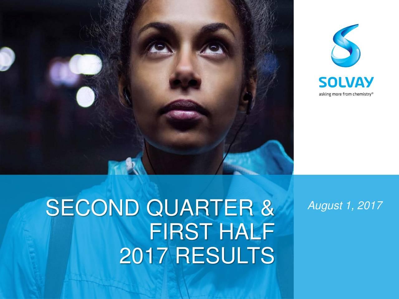 SECOND QUARTER & FIRST HALF 2017 RESULTS