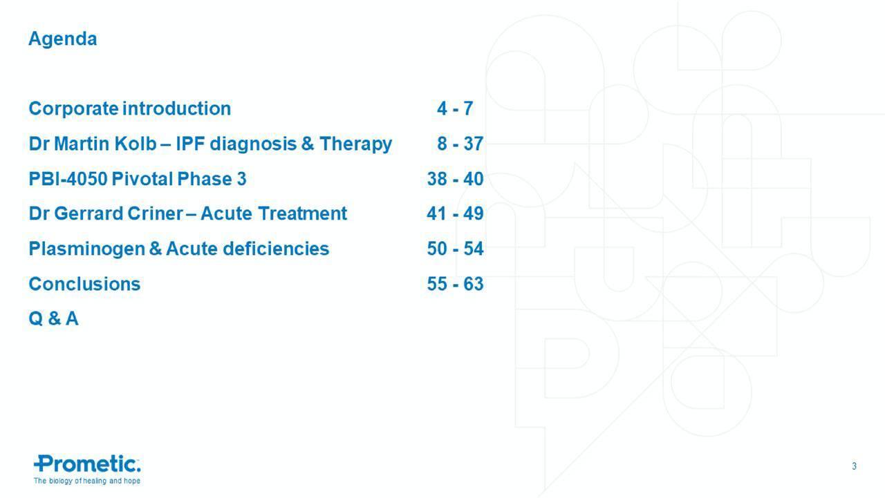 ProMetic Life Sciences (PFSCF) Novel Treatment For