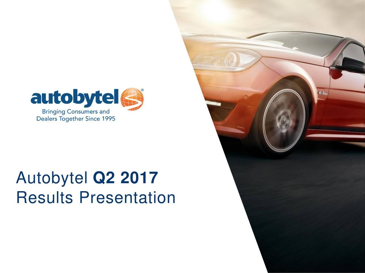 Autobytel Q2 2017 Results Presentation