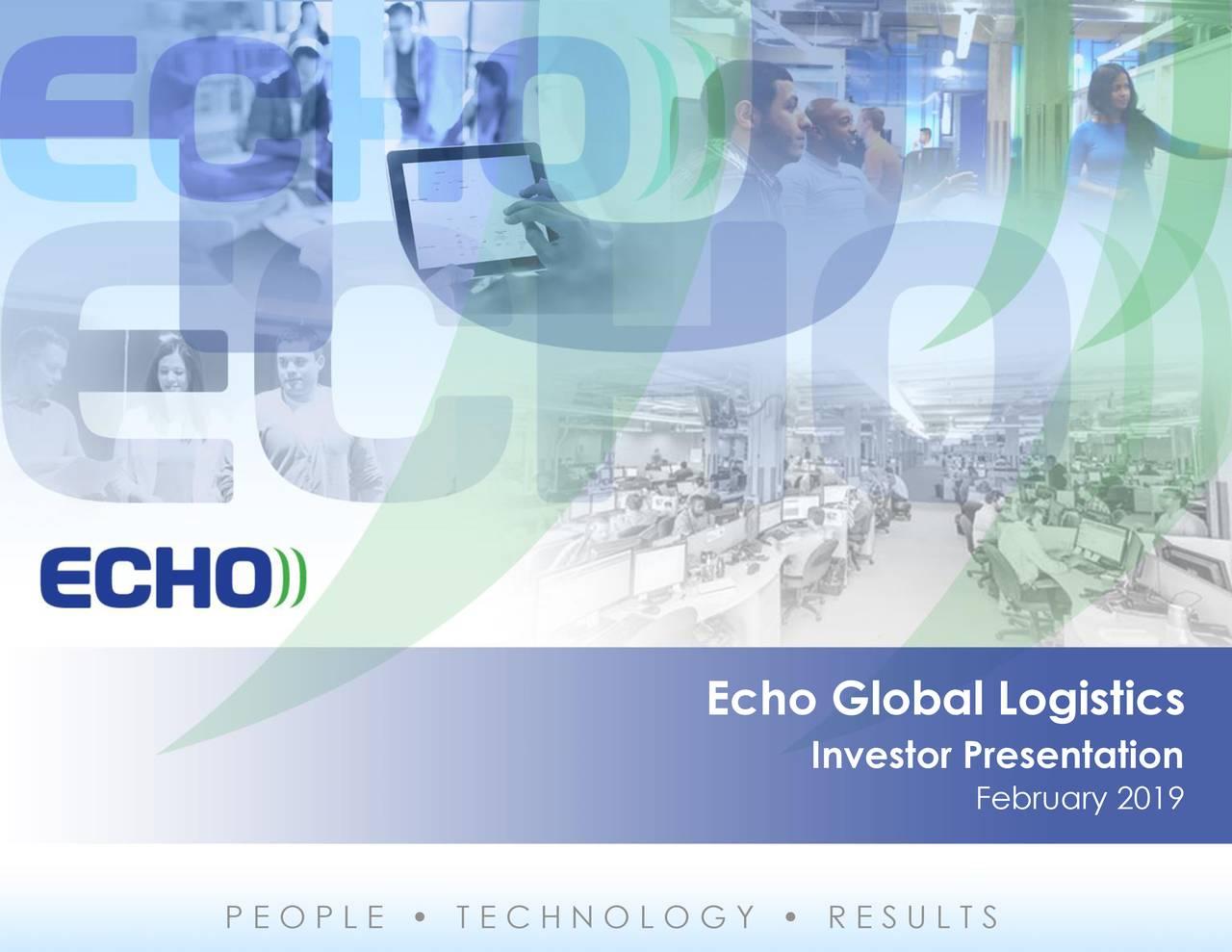 Echo Global Logistics (ECHO) Investor Presentation