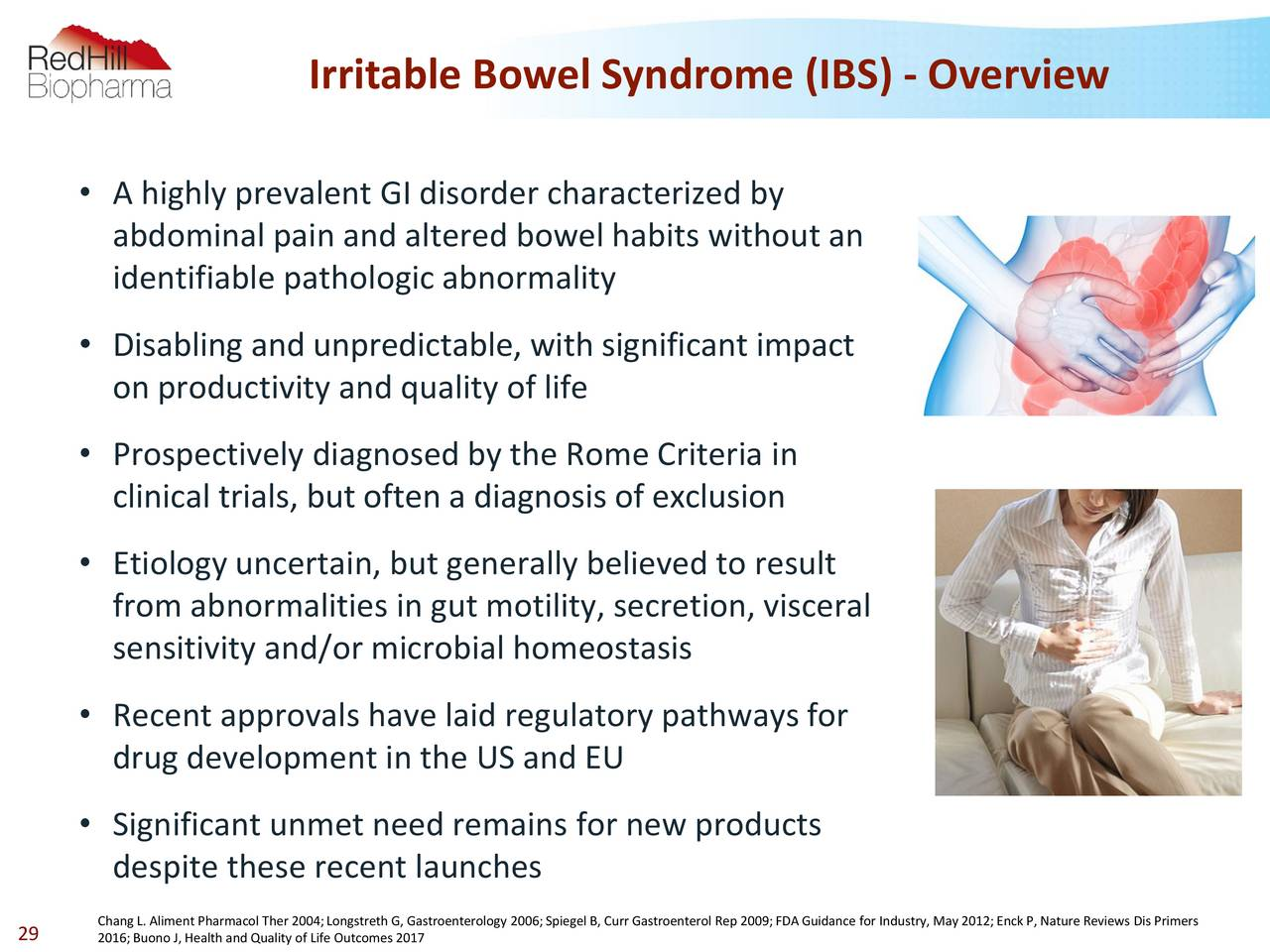 an overview of the irritable bowel syndrome in medical research Overview of ibs irritable bowel syndrome (ibs) is an intestinal disorder that causes crampy pain, gassiness, bloating and changes in bowel habits because an organic cause has not been found, ibs often has been thought to be caused by emotional conflict or stress while stress may worsen ibs symptoms, research suggests that other.