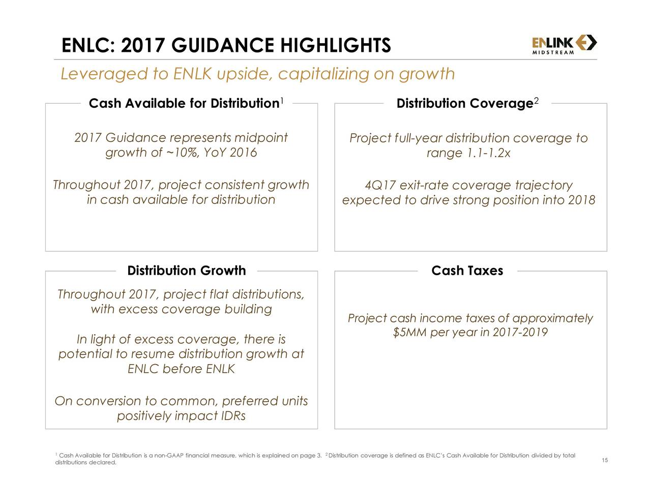 Enlink Midstream Partners Lp 2016 Q4 Results Earnings Call