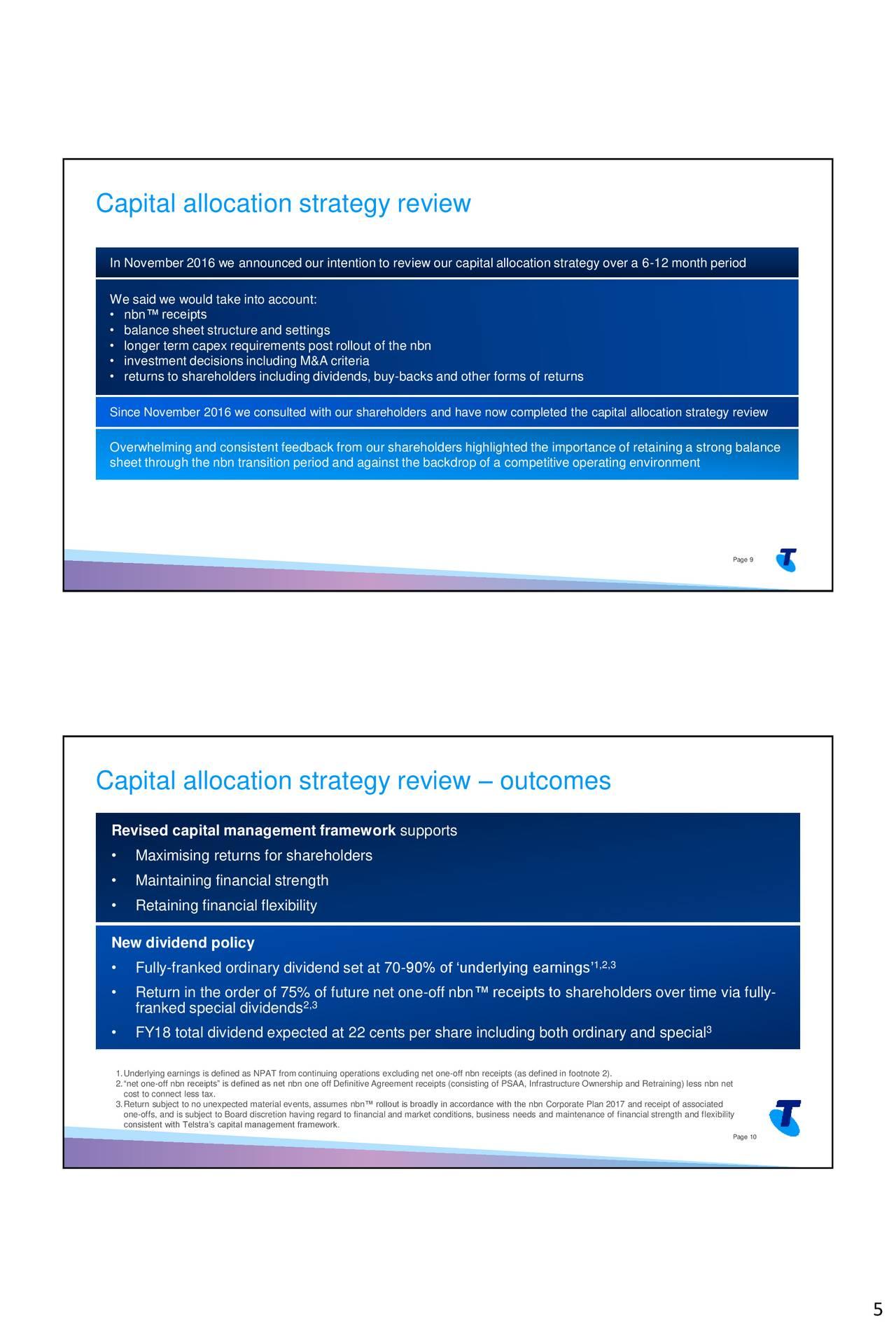 Telstra Corporation (TLSYY) Investor Presentation ...