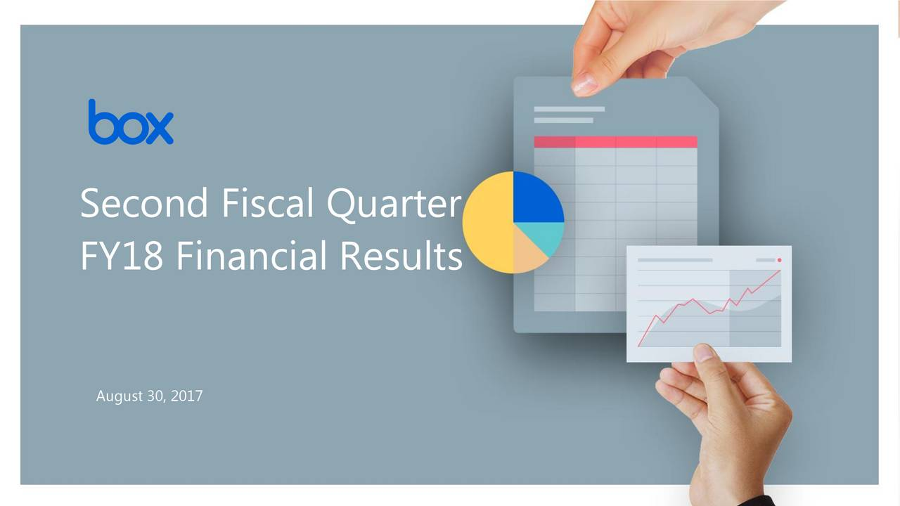 Financial Resultsuarter FY18 Financial Results May 31, 2017 Or the speakers name. Or their @handle