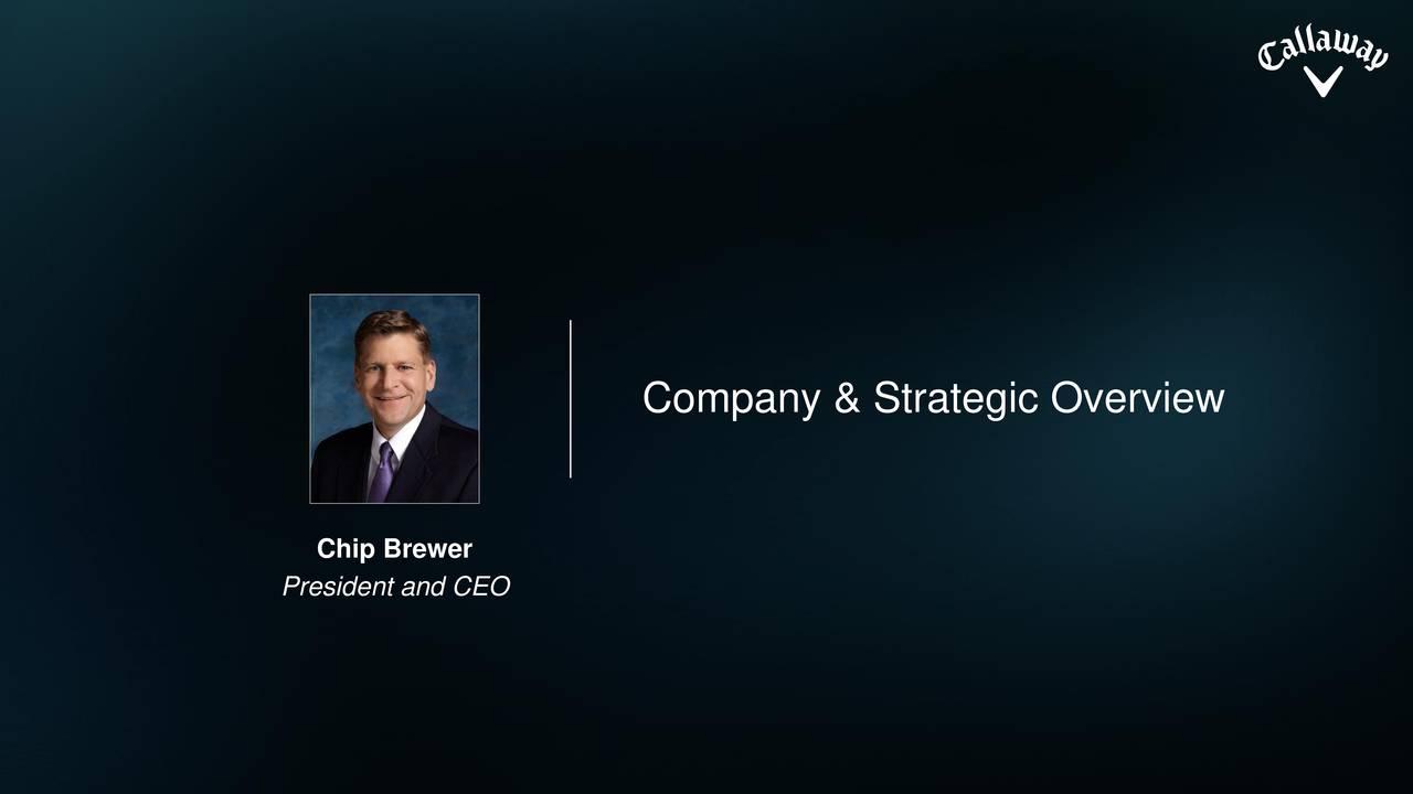 Company & Strategic Overview