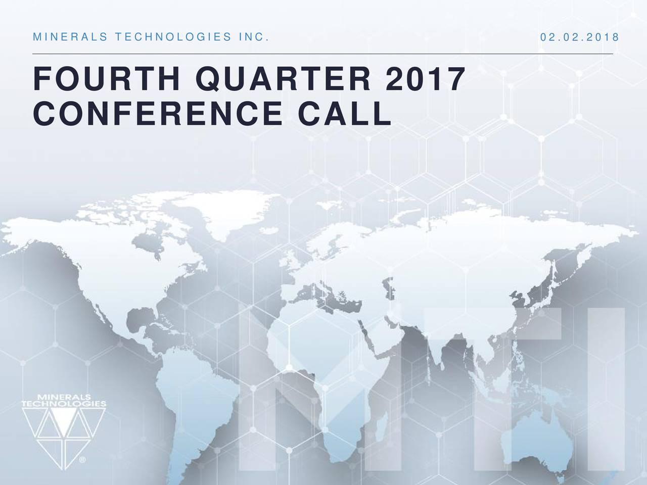 FOURTH QUARTER 2017 CONFERENCE CALL