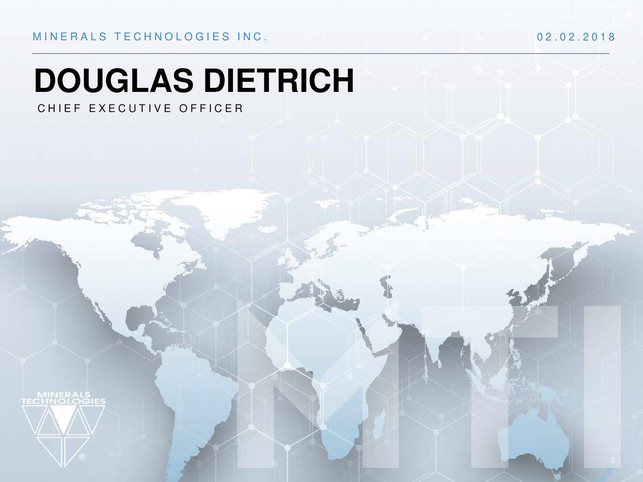 DOUGLAS DIETRICH CHIEF EXECUTIVE OFFICER 3