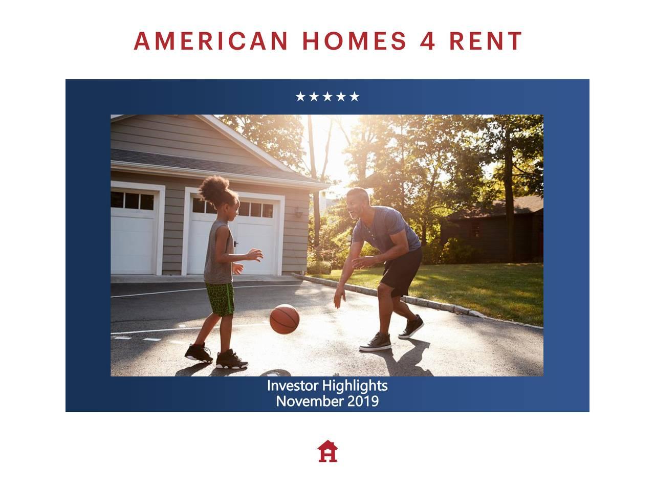American Homes 4 Rent (AMH) Investor Presentation - Slideshow - American Homes 4 Rent (NYSE:AMH) | Seeking Alpha
