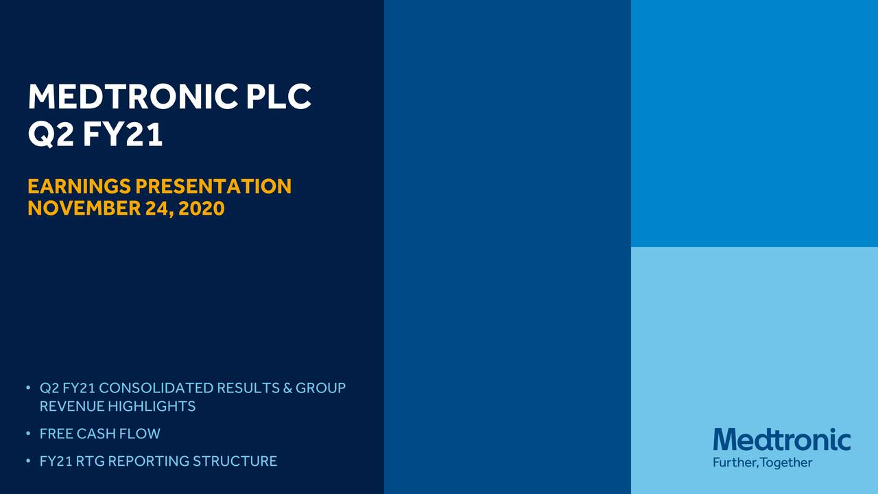 Medtronic plc 2021 Q2 - Results - Earnings Call Presentation (NYSE:MDT)