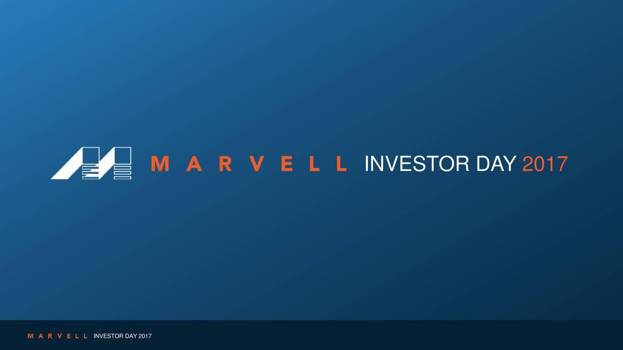 Marvell Technology (MRVL) Investor Presentation - Slideshow