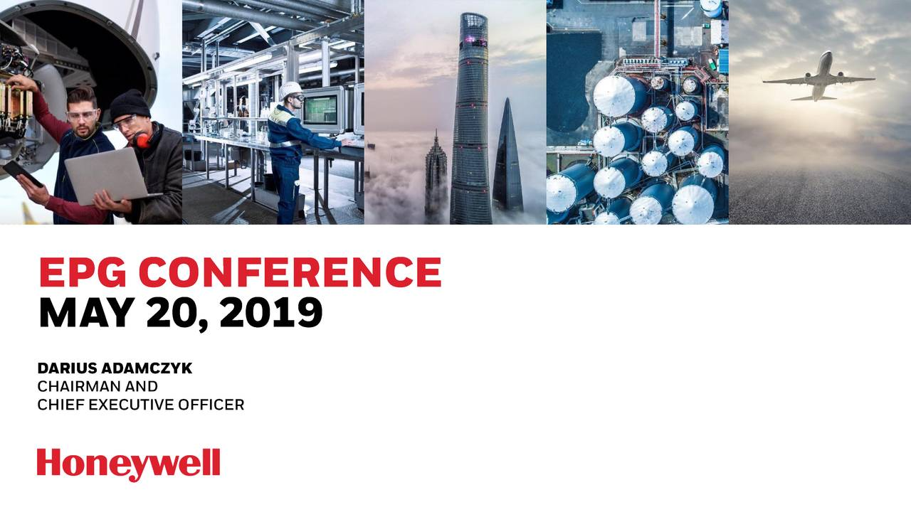 Honeywell International (HON) Presents At Electrical Products Group Spring Conference - Slideshow