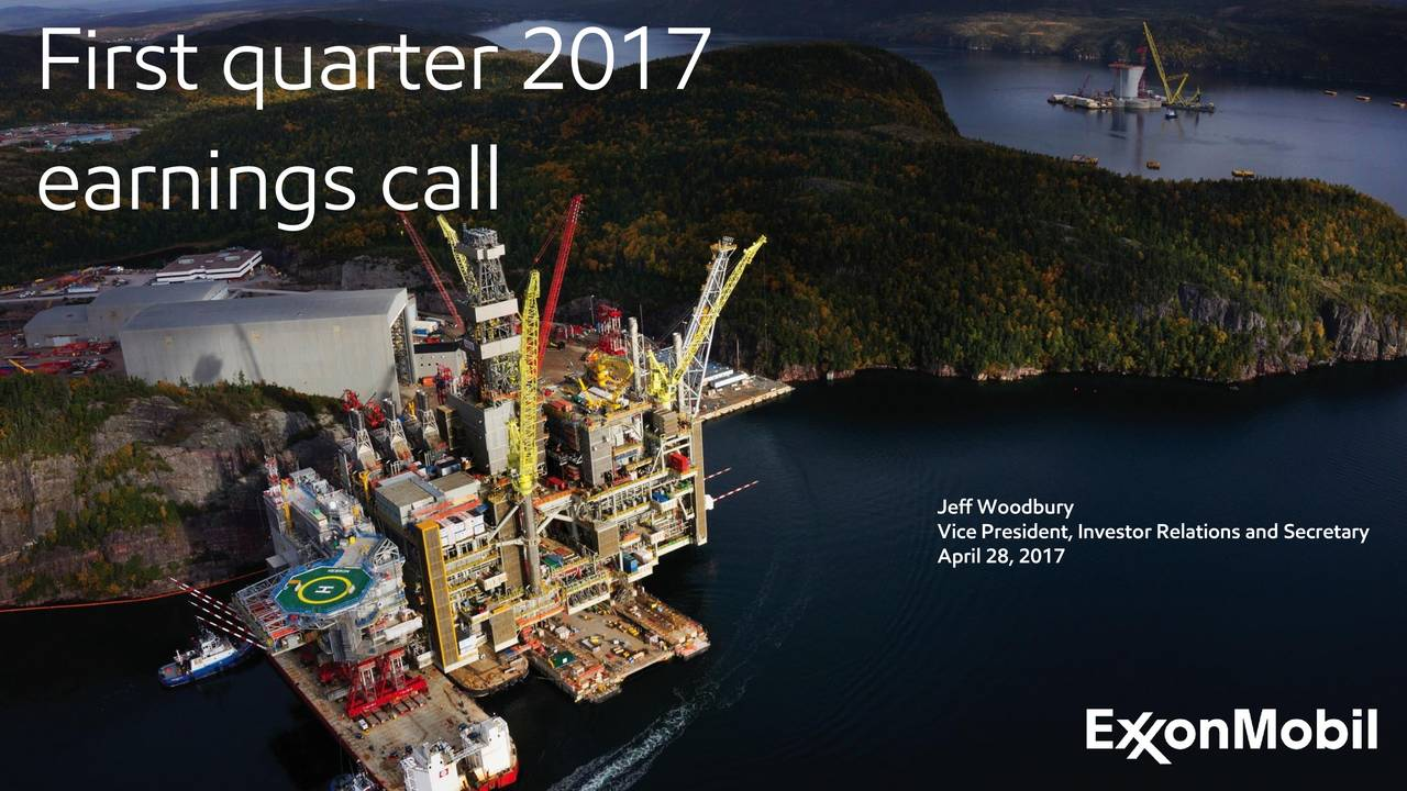 earnings call Jeff Woodbury April 28, 2017, Investor Relations and Secretary