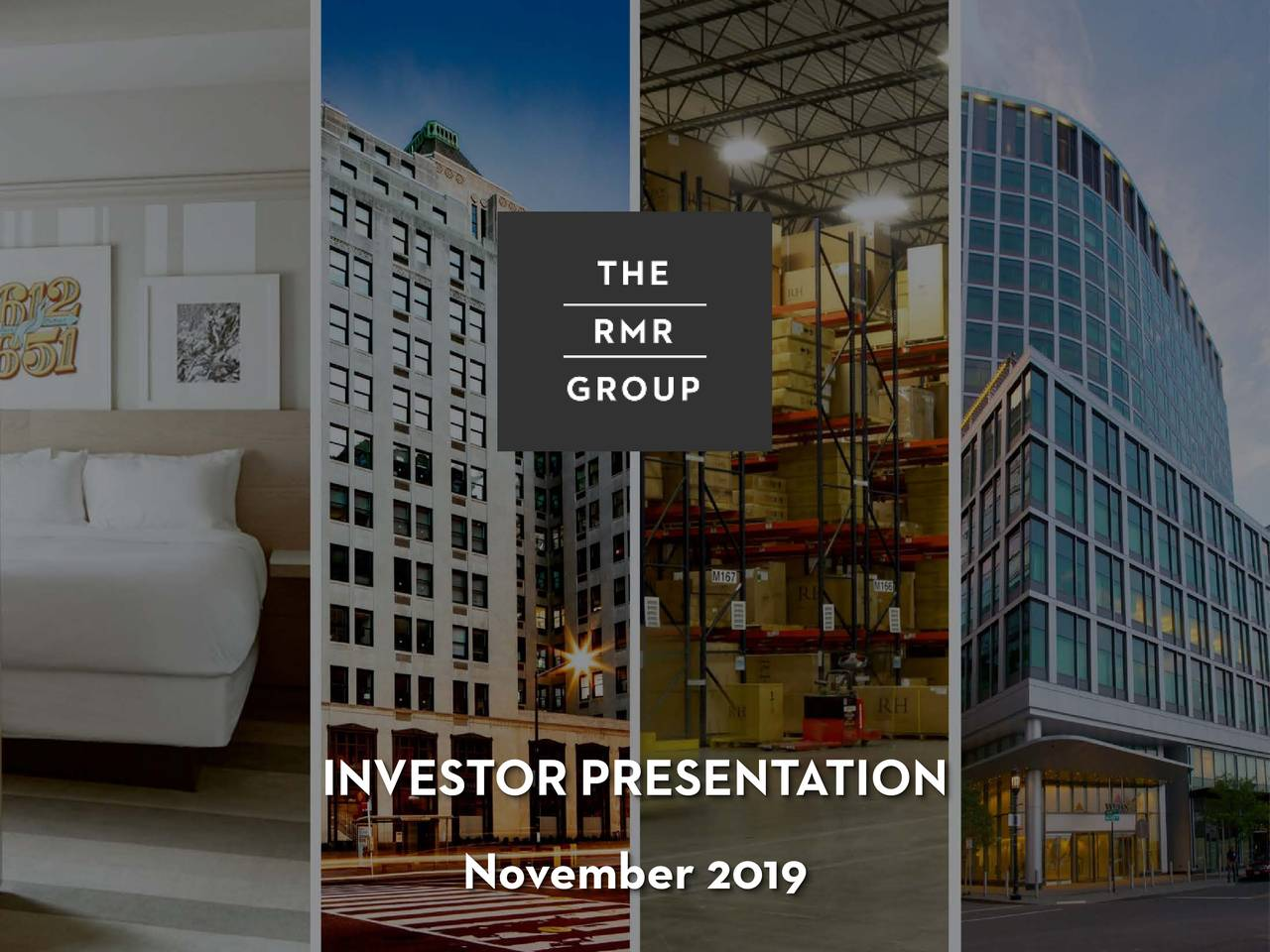 The RMR Group Inc. 2019 Q4 - Results - Earnings Call Presentation - The RMR Group Inc. (NASDAQ:RMR) | Seeking Alpha