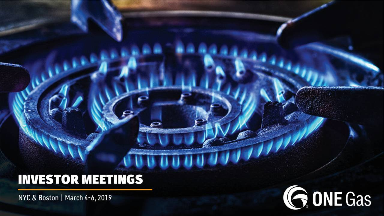 One Gas (OGS) Presents At Morgan Stanley Global Energy