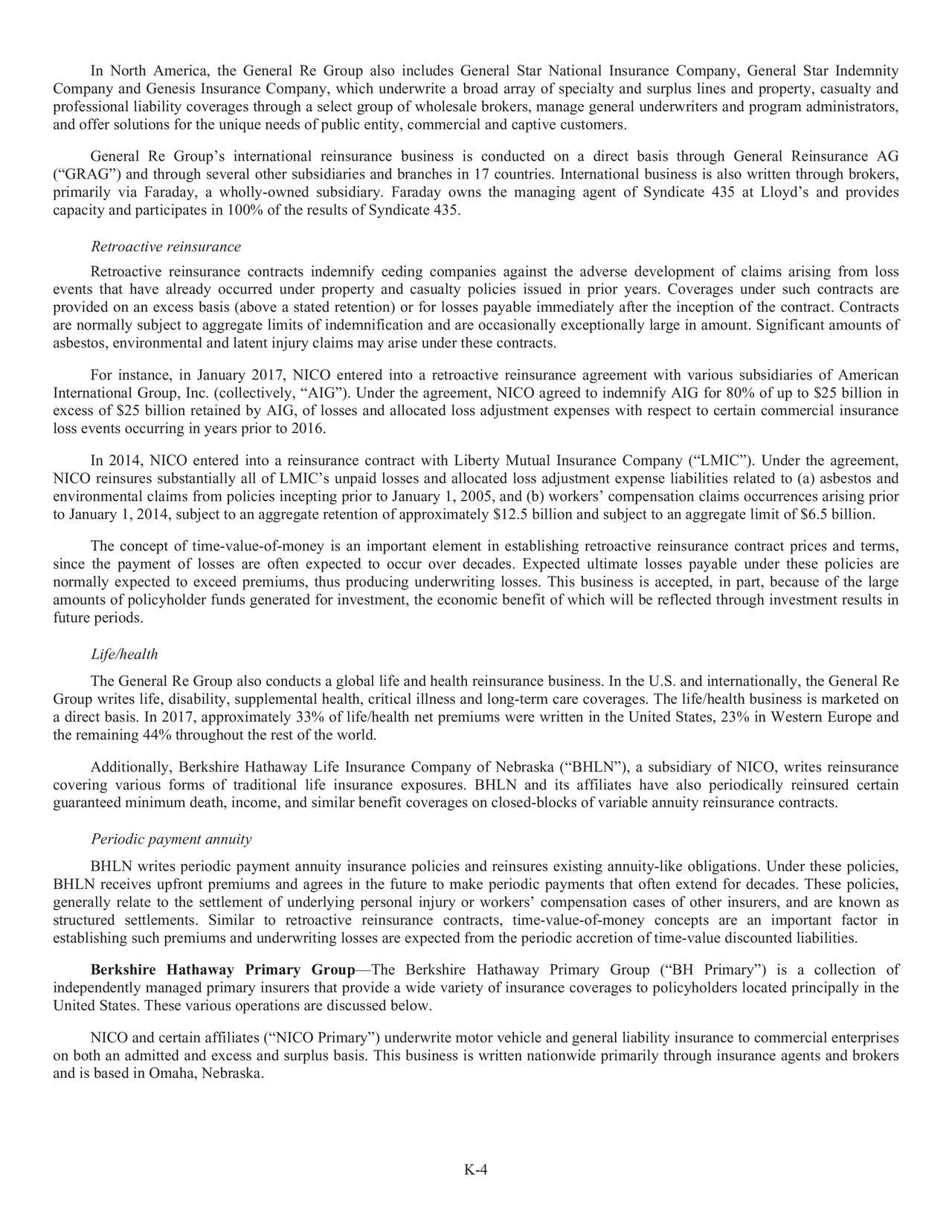 Berkshire Hathaway 2017 Annual Letter  Berkshire Hathaway A NYSE:BRK.A  Seeking Alpha