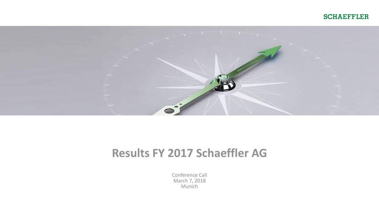 SCHAEFFLER AG ADR 2017 Q4 - Results - Earnings Call Slides ...