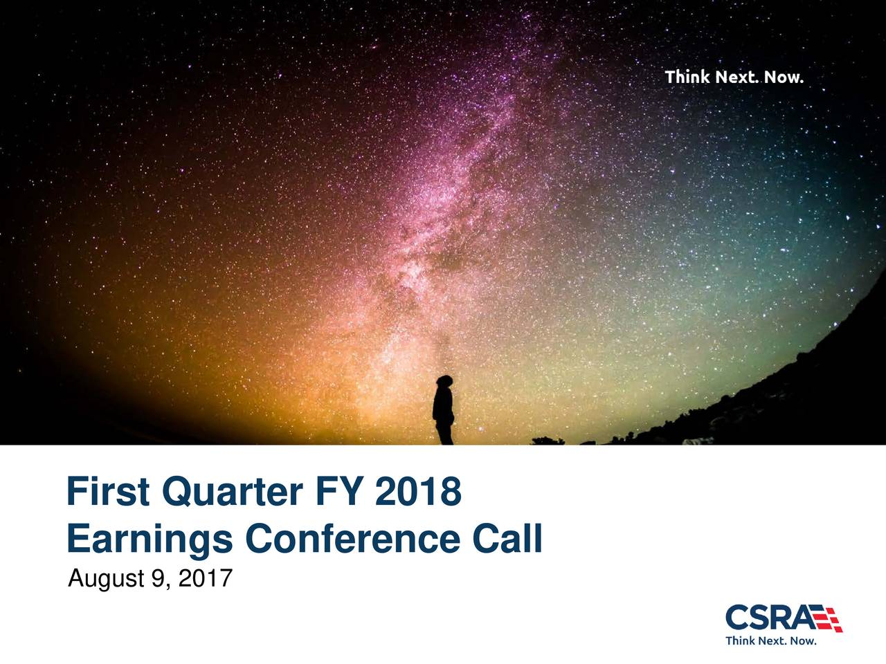 CSRA Inc. 2018 Q1 - Results - Earnings Call Slides - CSRA ...
