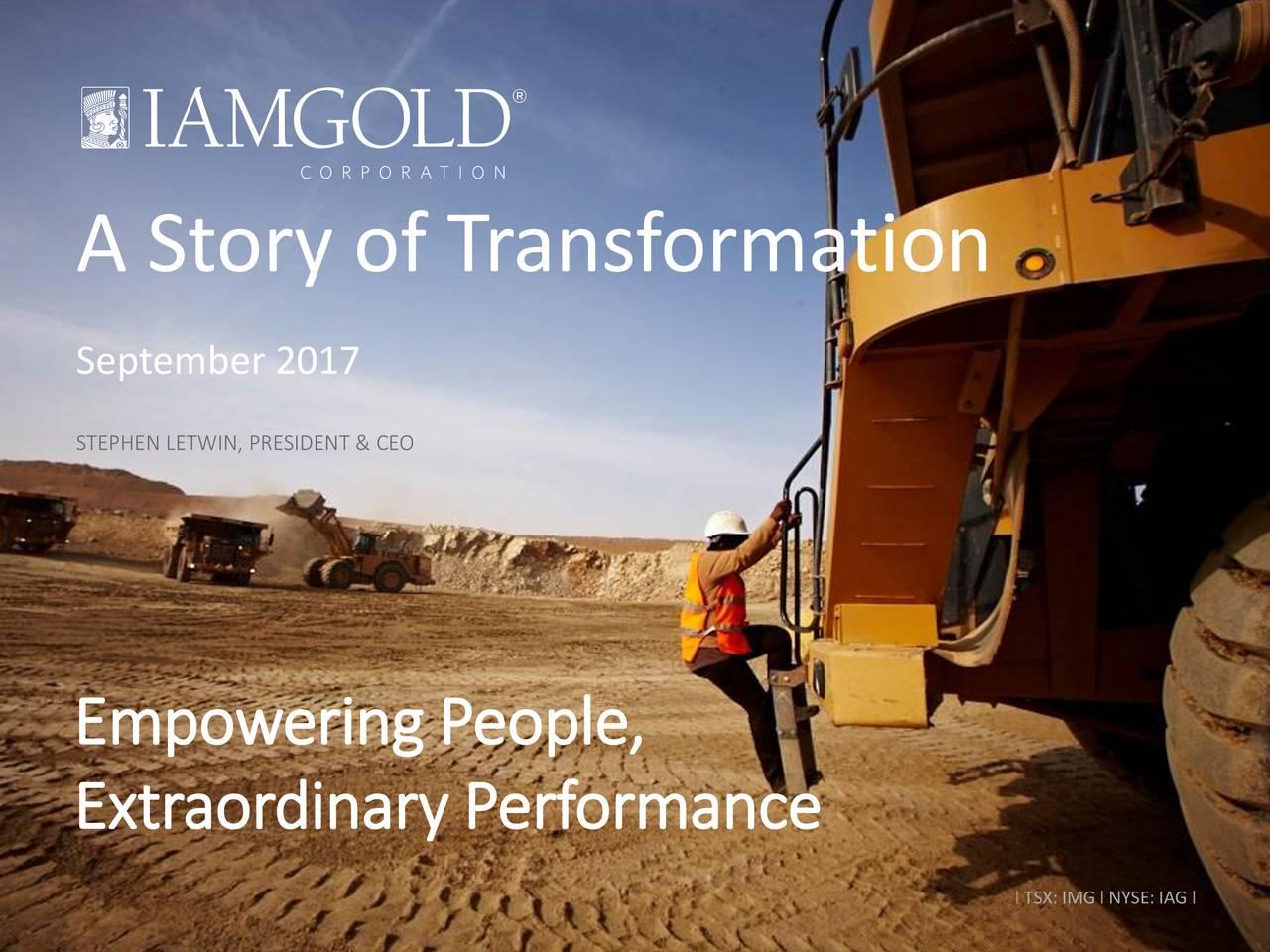 IAMGOLD (IAG) Presents At 2017 Denver Gold Forum - Slideshow