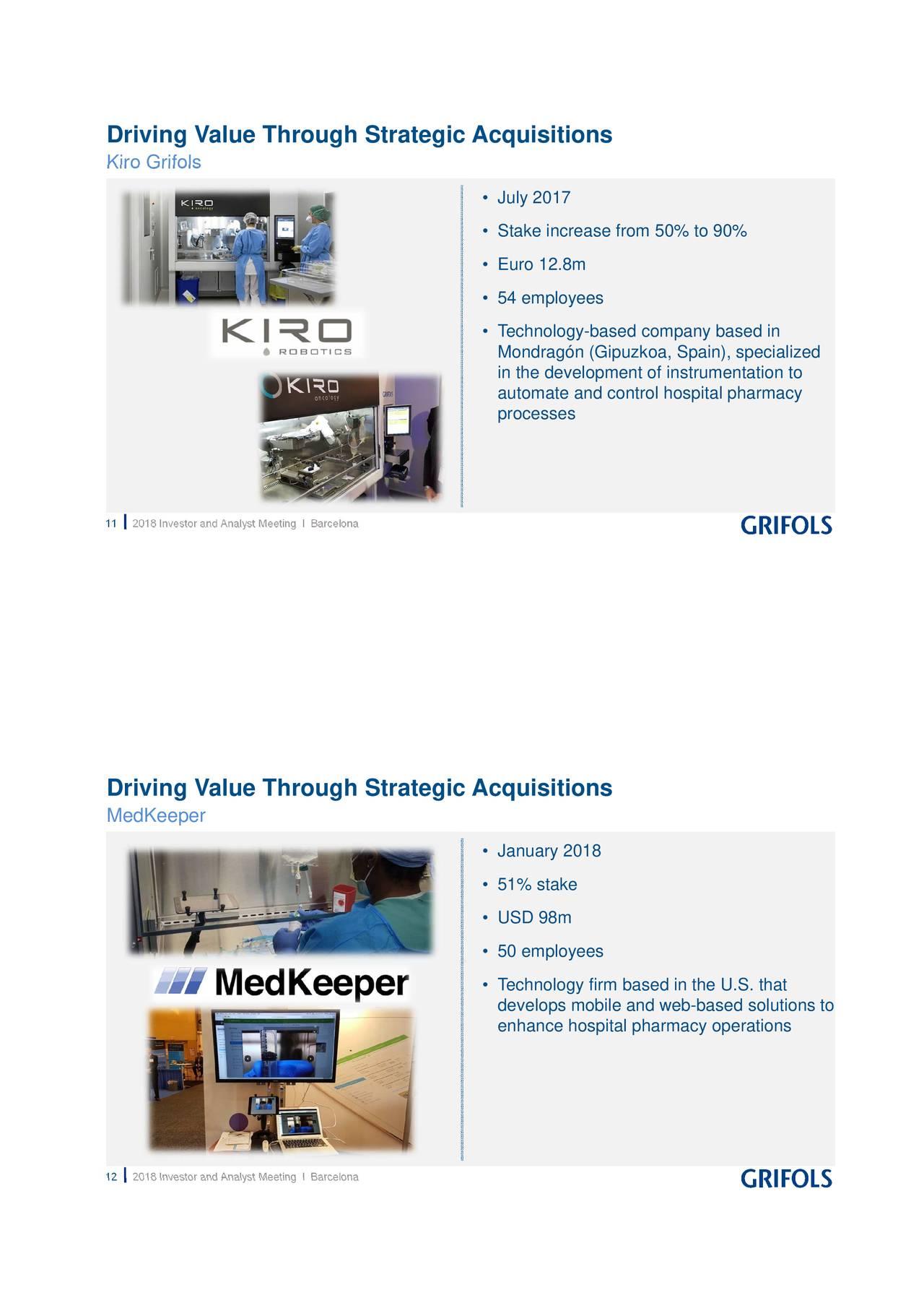 Grifols (GIKLY) Investor Presentation - Slideshow - Grifols, S A