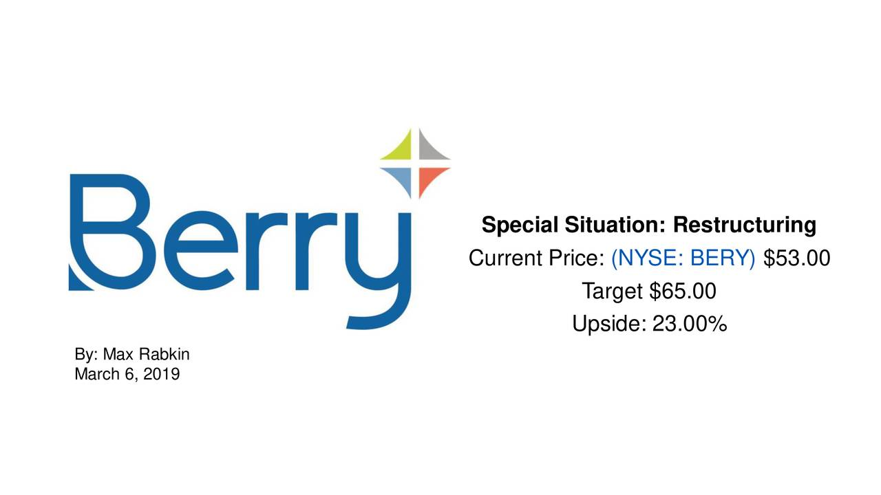 Special Situation: Restructuring