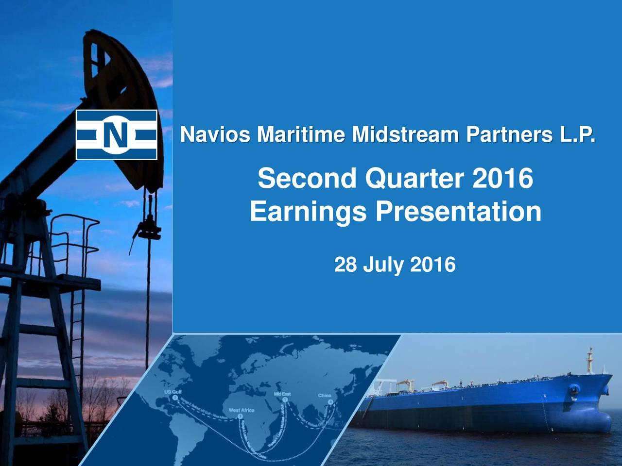 Second Quarter 2016 Earnings Presentation 28 July 2016