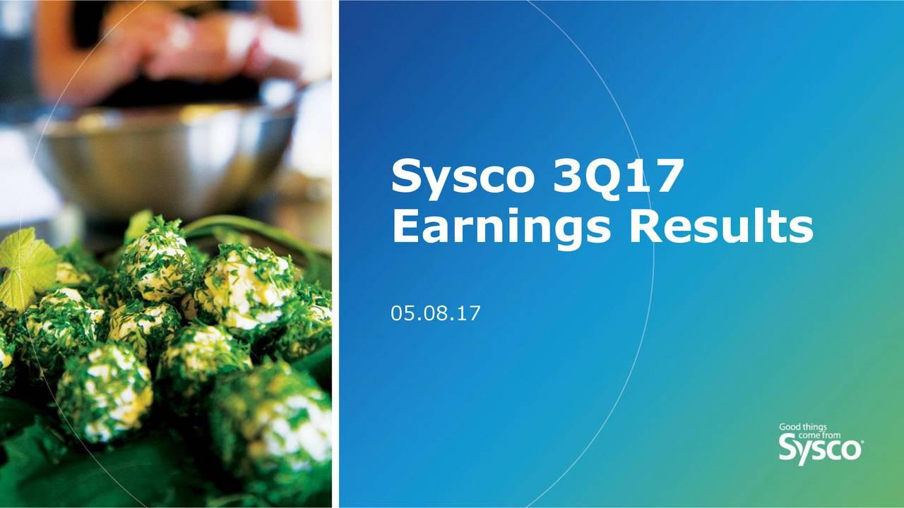 Earnings Results 05.08.17