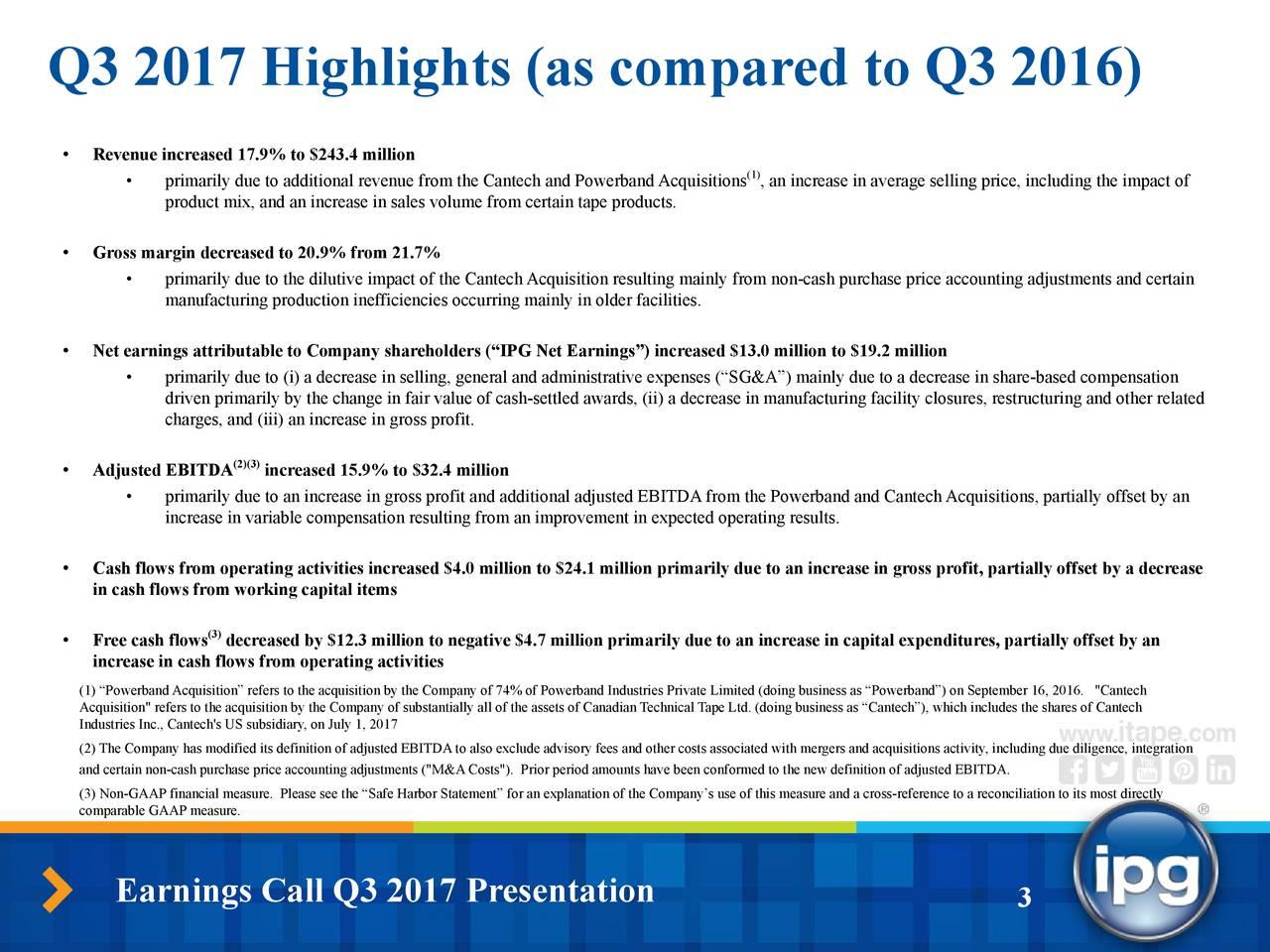 quarterly profit loss statement
