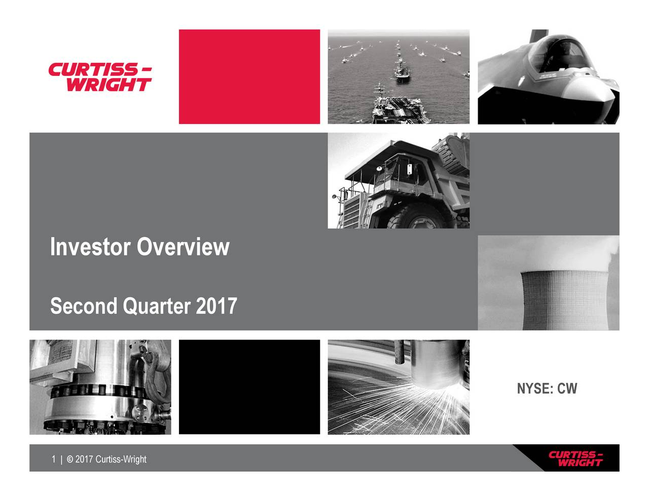 InvestorOondrvuarter 2017 2017 Curtiss-Wright
