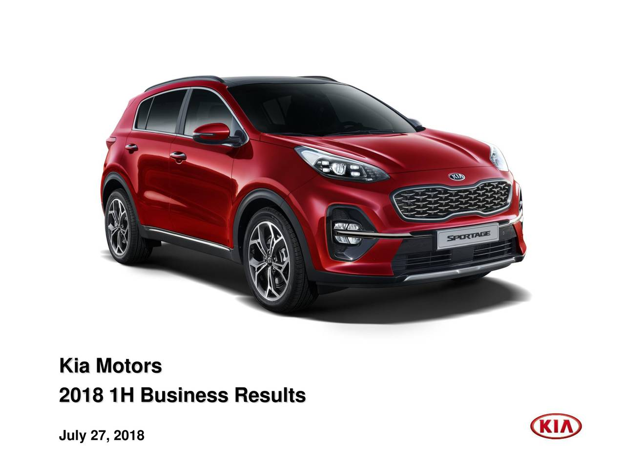 Kia motors corp 2018 q2 results earnings call slides for Kia motors contact number
