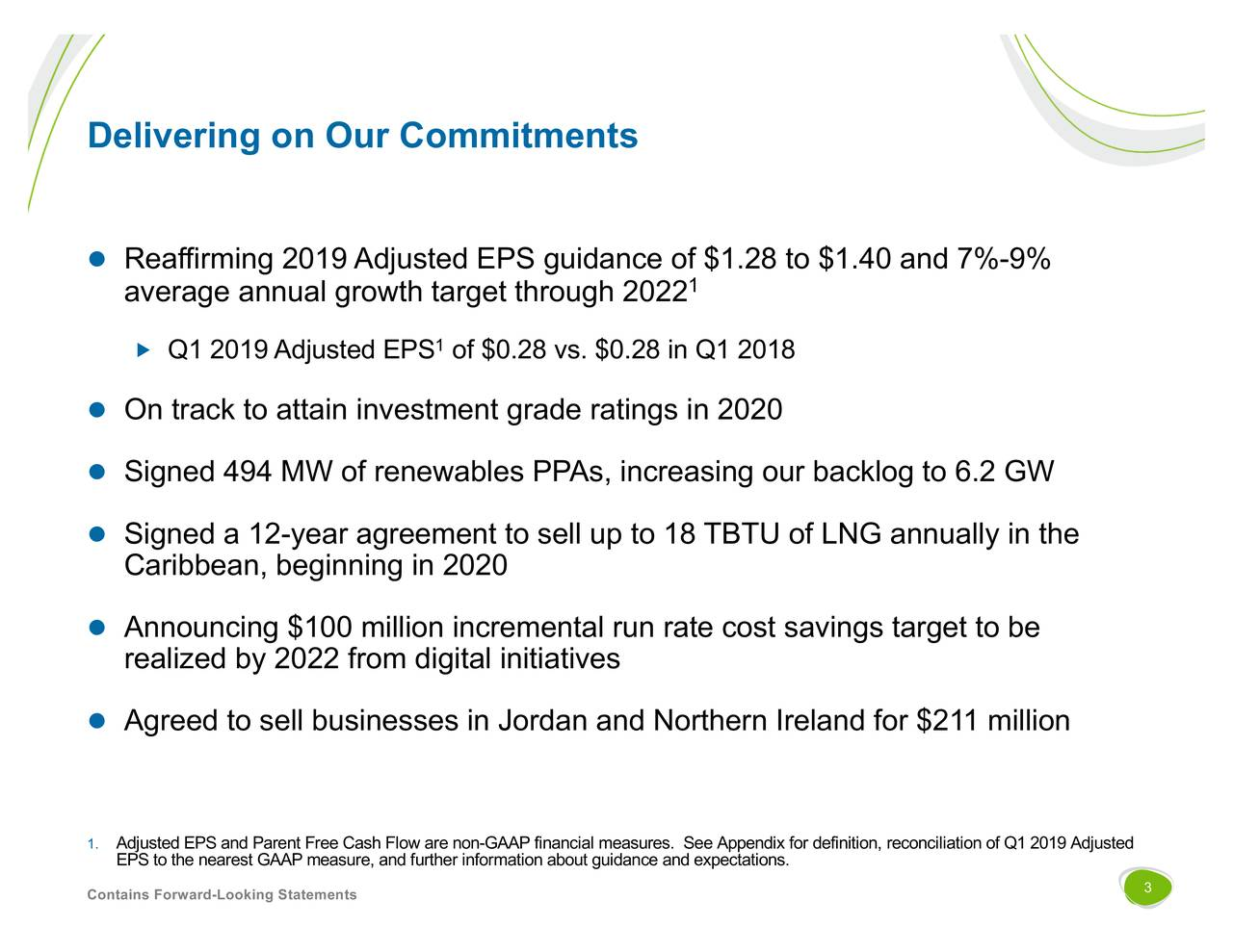 The AES Corporation 2019 Q1 - Results - Earnings Call Slides - The