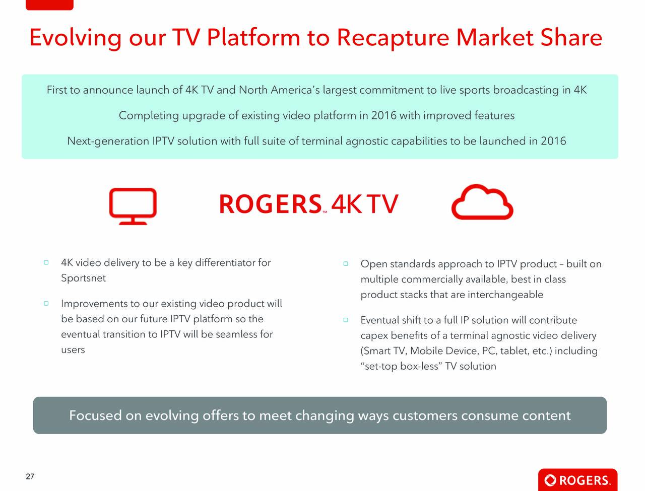 rogers communication inc Free essay: rogers communications inc industry overview the canadian cellular service's industry is comprised of approximately 15 cellular providers these.