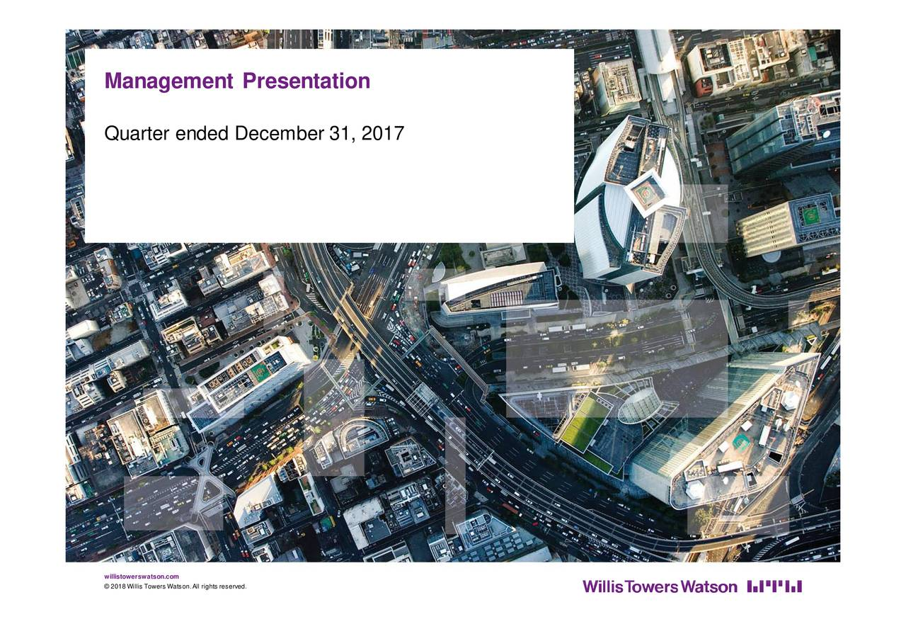 Willis Towers Watson (WLTW) Presents At Bank Of America Merrill