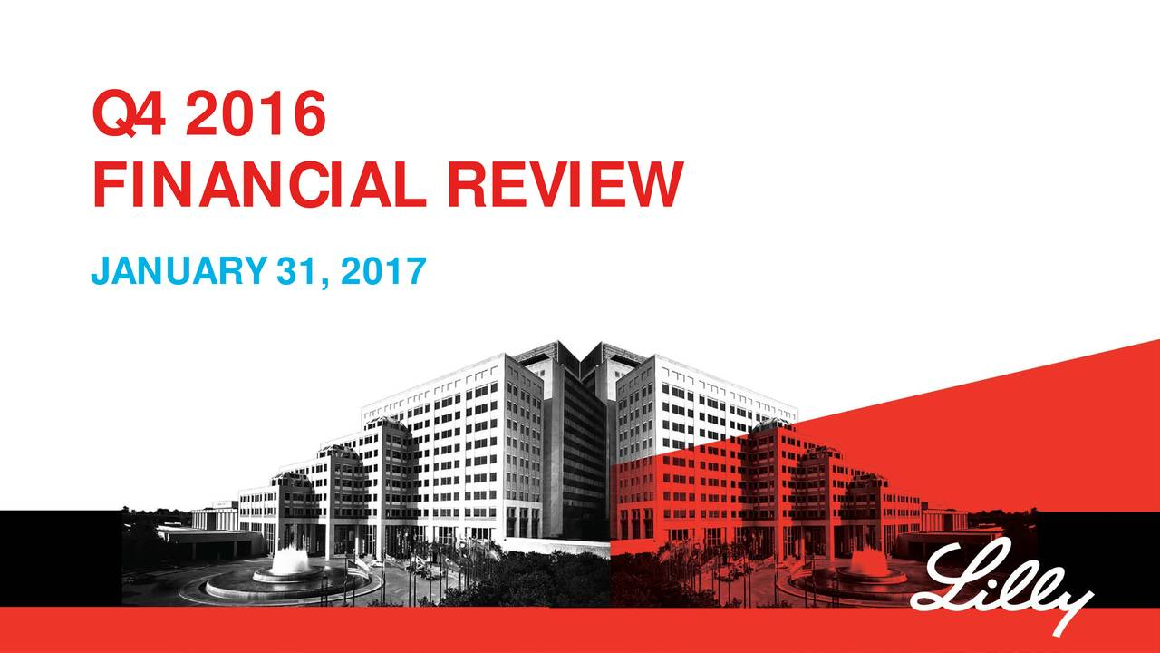 FINANCIAL REVIEW JANUARY 31, 2017