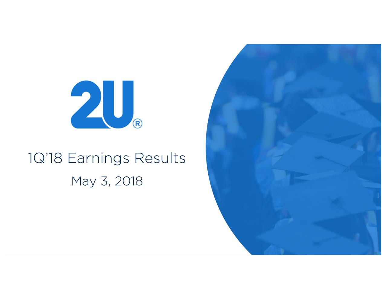 1Q'18 Earnings Results