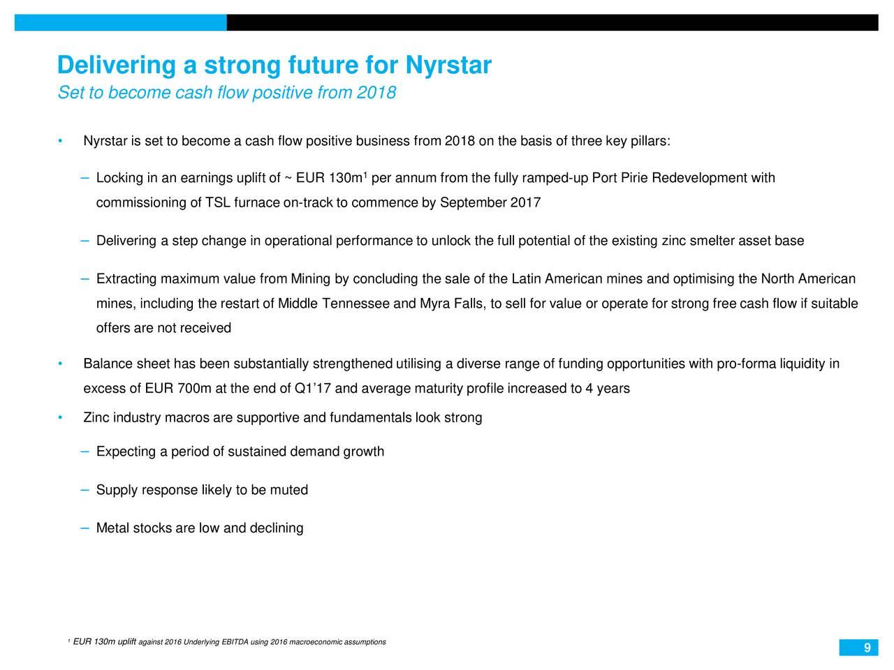 Nyrstar NV (NYRSF) Presents At BofAML 2017 Global Metals