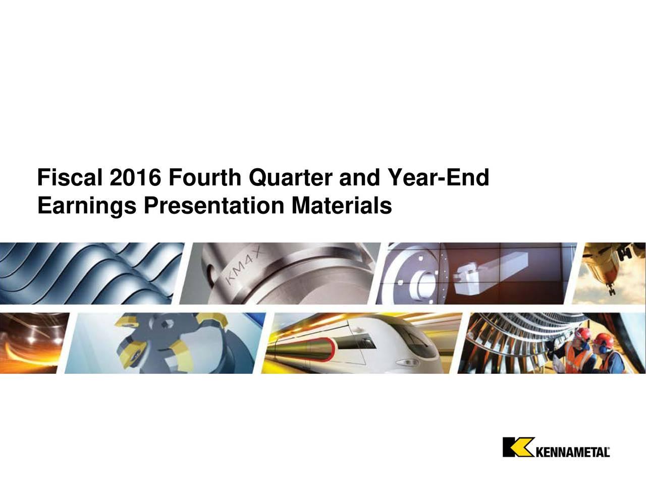 Earnings Presentation Materials