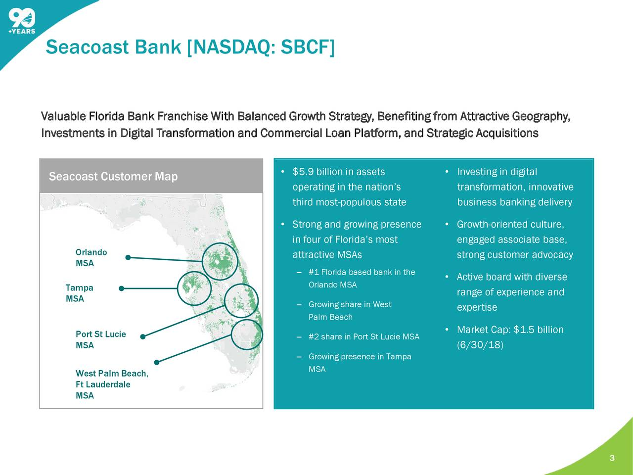 Seacoast Banking Corporation of Florida 2018 Q2 - Results - Earnings ...