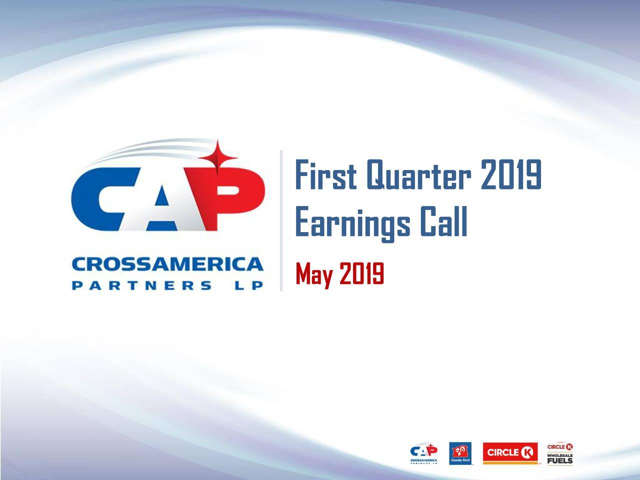 Earnings Call May 2019