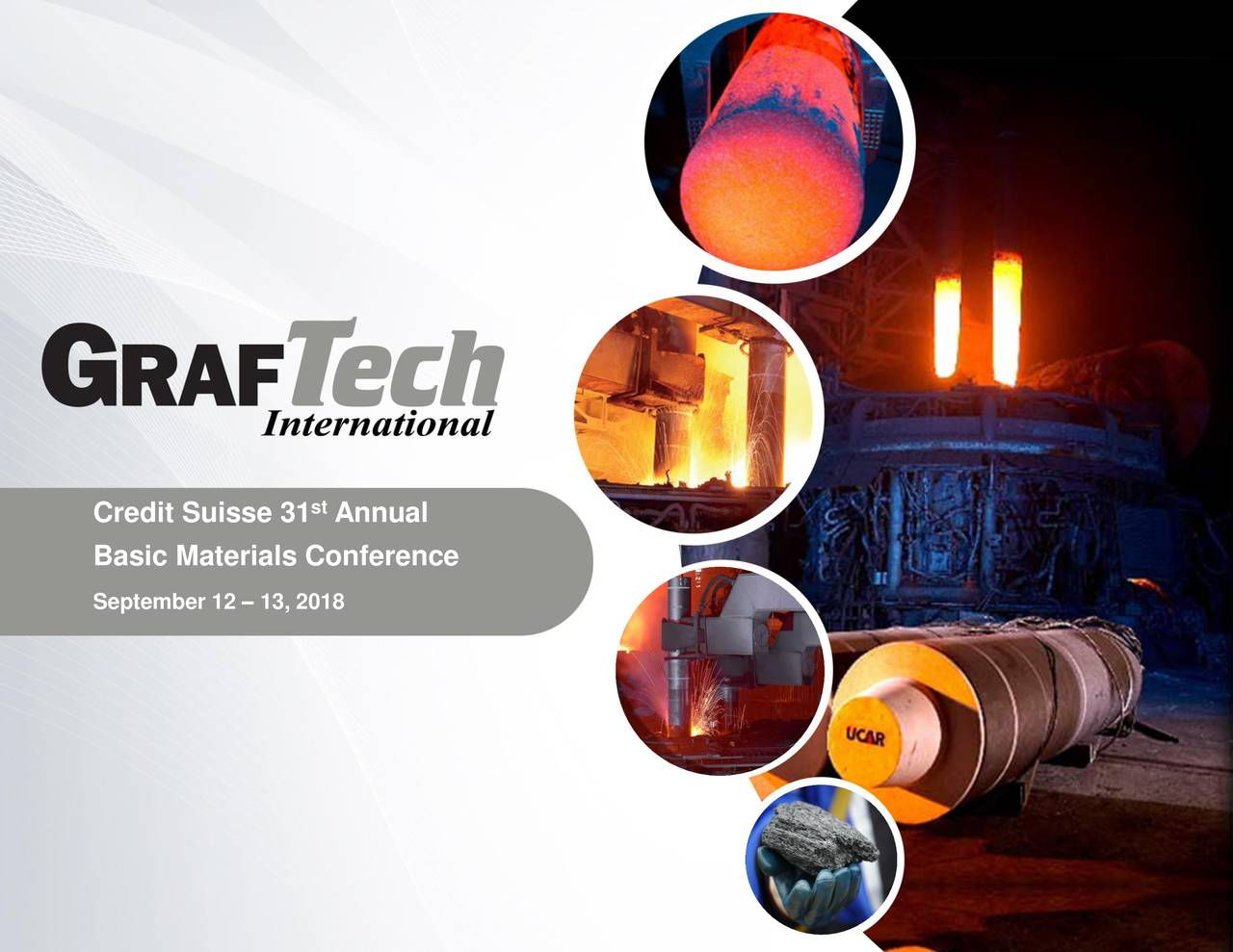 Basic Materials Conference September 12 – 13, 2018