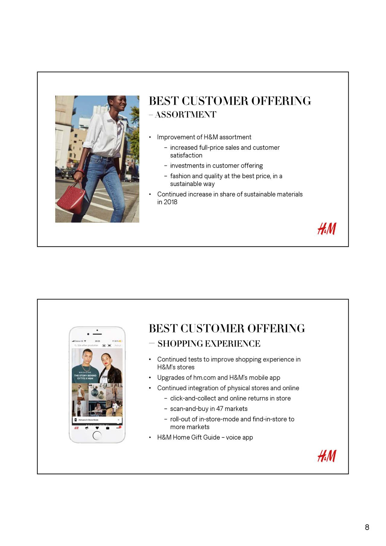 Hennes Mauritz Ab Adr 2018 Q4 Results Earnings Call Slides H