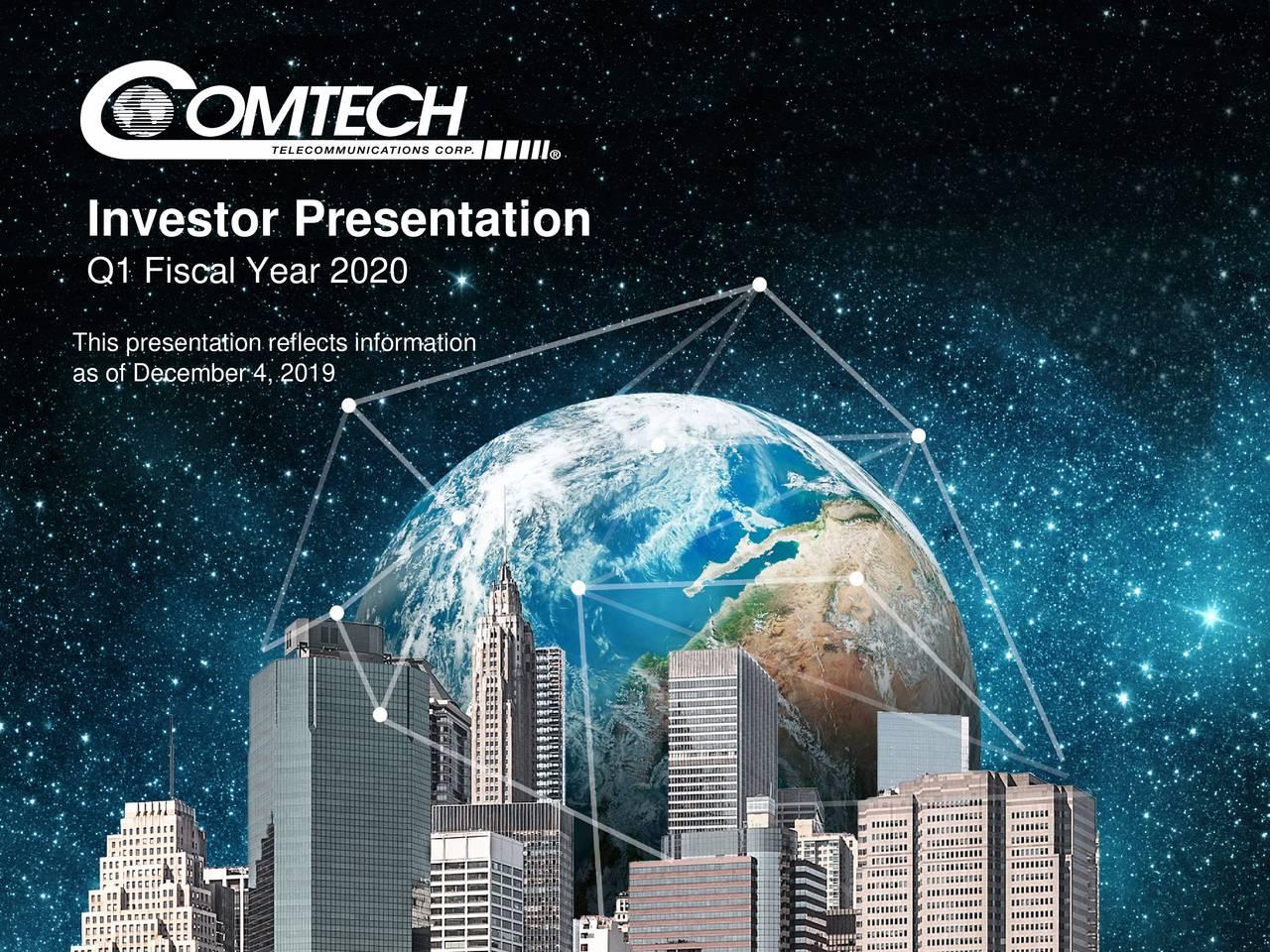 InInvestor Presentation