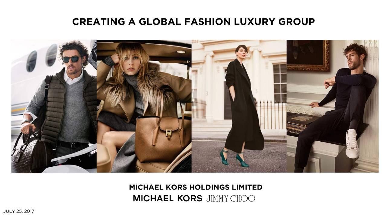 ce83cc7e8810 Michael Kors Holdings (KORS) Acquires Jimmy Choo (JYMHF) - Slideshow ...