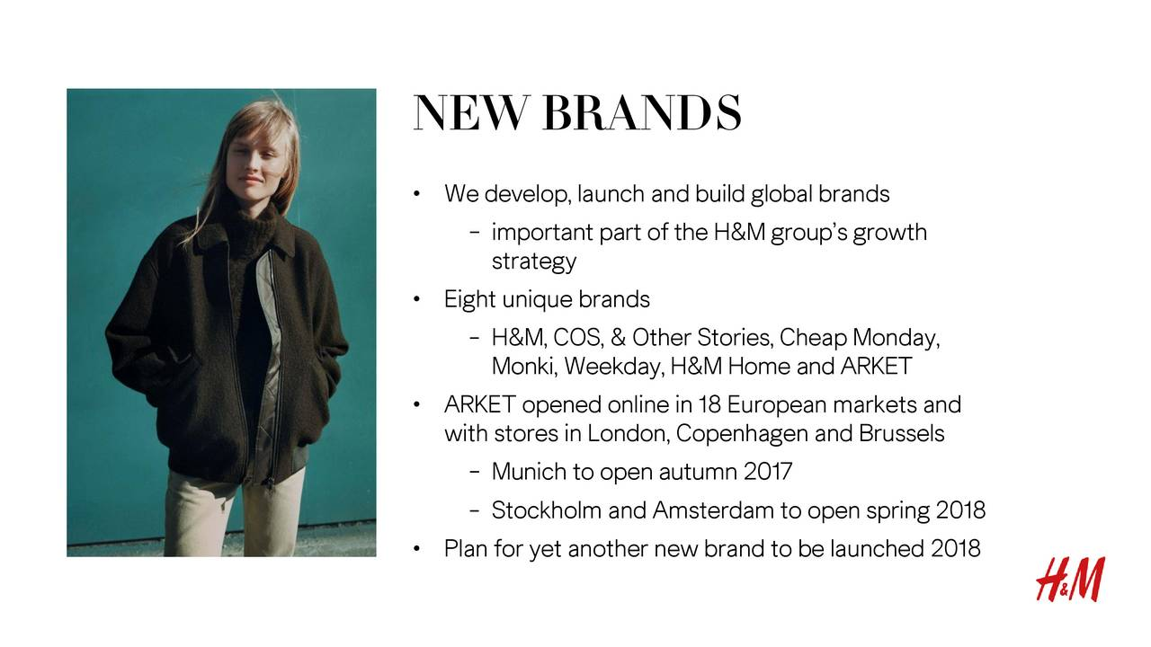 a report on hennes and mauritz H & m hennes & mauritz ab is a sweden-based company active in the clothing industry it operates under such brand names, as h&m, h&m home, cos, monki, weekday, cheap.