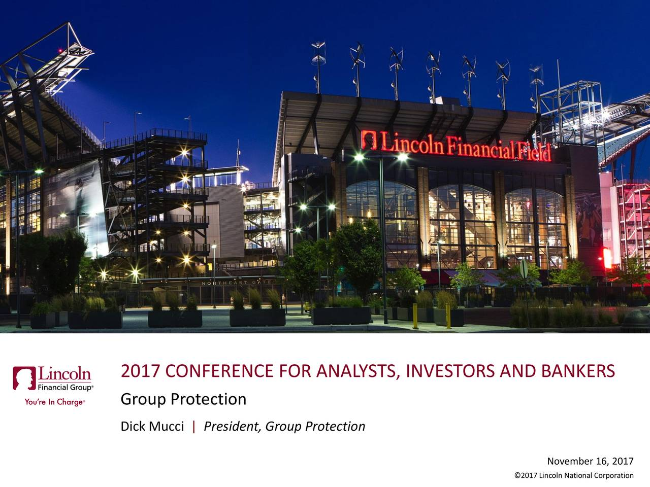 Lincoln National Lnc Investor Presentation Slideshow