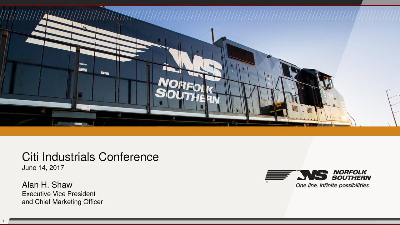 Nsc Stock Quote Norfolk Southern Nsc Presents At Citi Research 2017 Industrials