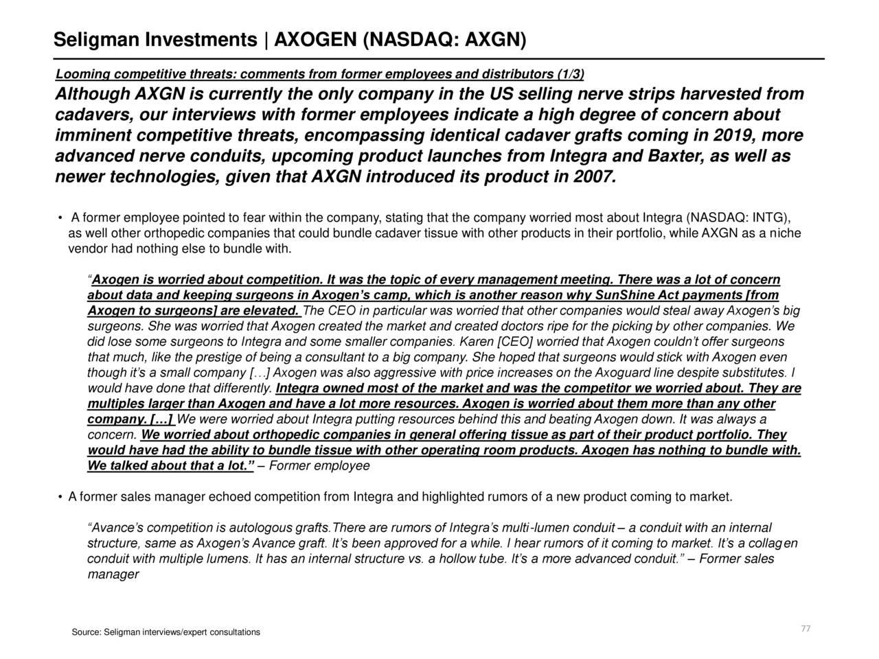 Investments ceo despite smaller