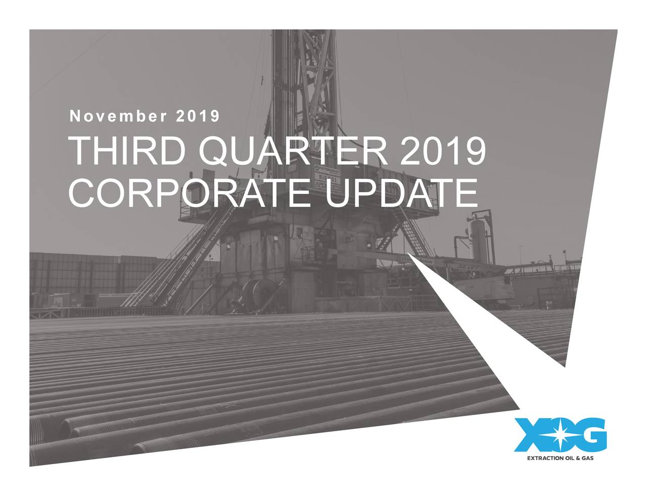 Extraction Oil & Gas (XOG) Investor Presentation - Slideshow